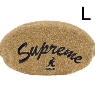 シュプリーム(Supreme)のSupreme Kangol Bermuda 504 Hat Tan Lサイズ(ハンチング/ベレー帽)