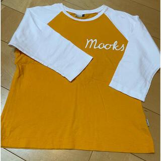Mooks ラグラン 7分袖シャツ レディースM(Tシャツ(長袖/七分))
