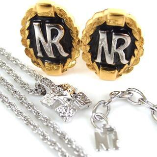 ニナリッチ(NINA RICCI)のニナ リッチ NRロゴ ネックレス&イヤリングセット 17-353(イヤリング)