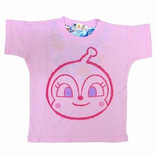 アンパンマン - 新品 100cm アンパンマン ひんやり背あて付きTシャツ タオル付 ピンク
