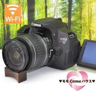 Canon - キヤノン Kiss X6i★タッチパネル操作&動く液晶画面☆1524