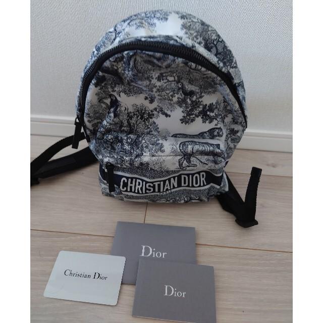Dior(ディオール)のDior スモールバッグパック レディースのバッグ(リュック/バックパック)の商品写真