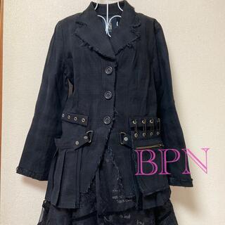 ビーピーエヌ(BPN)のBPN ブラックピースナウ(テーラードジャケット)