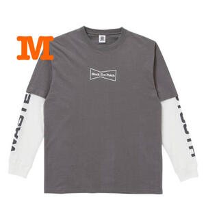 Supreme - WY x BEP LAYERED L/S TEE CHARCOAL GRAY