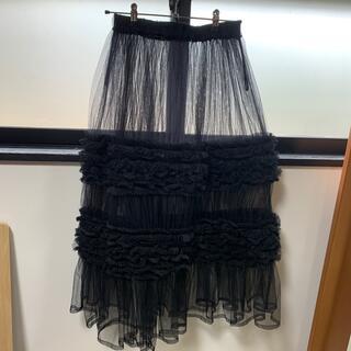 COMME des GARCONS - noir kei ninomiya チュールスカート