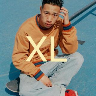 GDC - wasted youth × Black Eye Patch orange XL