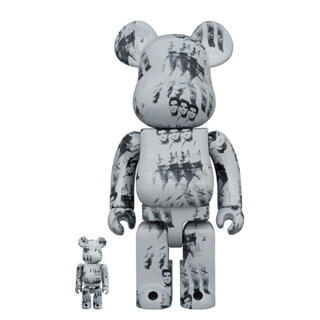 メディコムトイ(MEDICOM TOY)のBE@RBRICK Andy ELVIS PRESLEY 100% 400%(その他)