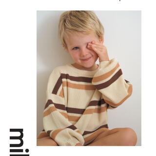 キャラメルベビー&チャイルド(Caramel baby&child )のmillk 新作 ニットトップス(ニット)
