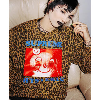 HYSTERIC GLAMOUR - Supreme×HYSTERIC GLAMOUR Crewneck 豹柄