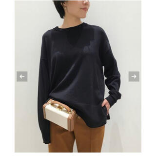 L'Appartement DEUXIEME CLASSE - 【中古】L'Appartement Silk * CTN C/N KNIT