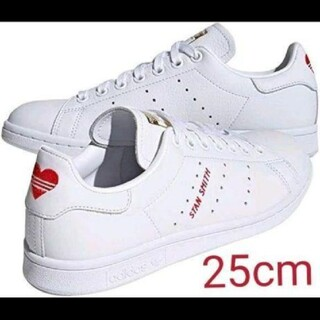 adidas - 1点のみ!アディダスオリジナルス スタンスミス スニーカー ホワイト 赤 ハート