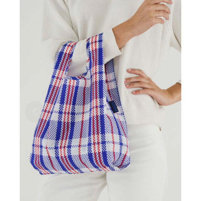 DEUXIEME CLASSE(ドゥーズィエムクラス)の【新品未使用】BAGGU バグー baby  マーケット ブルー レディースのバッグ(エコバッグ)の商品写真