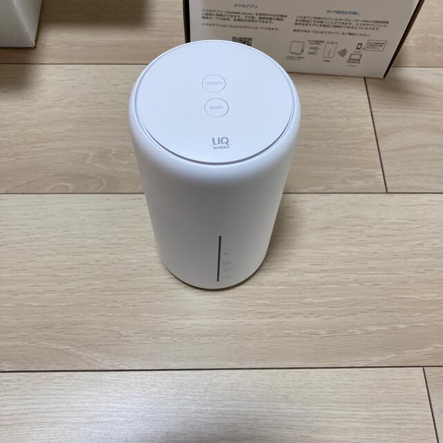 HUAWEI(ファーウェイ)のホームルーター/UQ WiMAX/Speed Wi-Fi HOME/L02 スマホ/家電/カメラのPC/タブレット(PC周辺機器)の商品写真