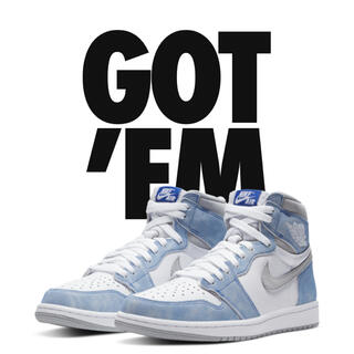 "NIKE - Air Jordan 1 Retro High OG ""Hyper Royal"""
