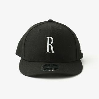 Ron Herman - ロンハーマン RHC × NEW ERA ニューエラ Rロゴ キャップ ブラック