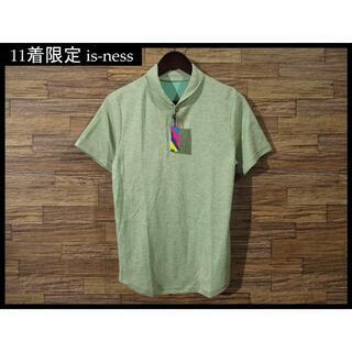 イズネス(is-ness)の少数生産 限定11着 新品 is-ness イズネス ショール ポロシャツ 40(ポロシャツ)