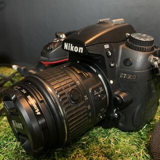 Nikon - Nikon D7000一眼レフダブルレンズ wifi機能付きSDカード付き