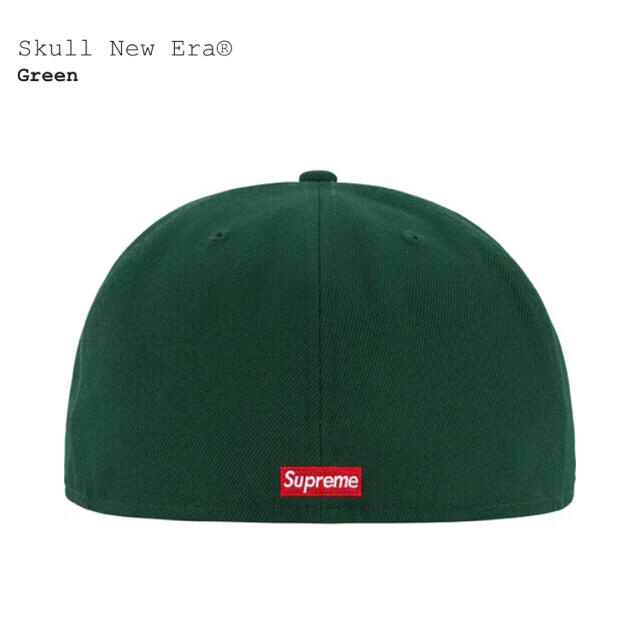 Supreme(シュプリーム)のsupreme newera 緑 7 1/2 メンズの帽子(キャップ)の商品写真