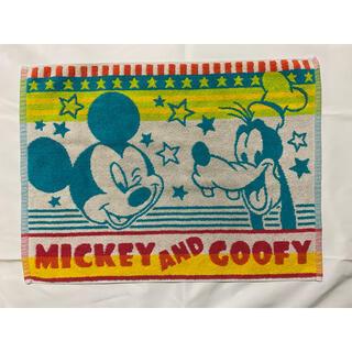 ディズニー(Disney)のディズニー ミッキー・グーフィー 綿生地バスマット(バスマット)