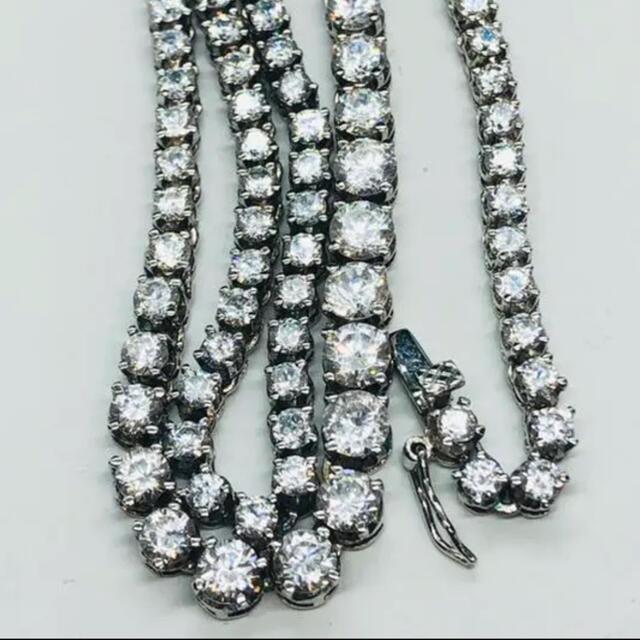 AVALANCHE(アヴァランチ)のテニスチェーン silver 925  メンズのアクセサリー(ネックレス)の商品写真