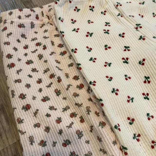 しまむら(シマムラ)のしまむら サーマルレギンス 100 キッズ/ベビー/マタニティのキッズ服女の子用(90cm~)(パンツ/スパッツ)の商品写真