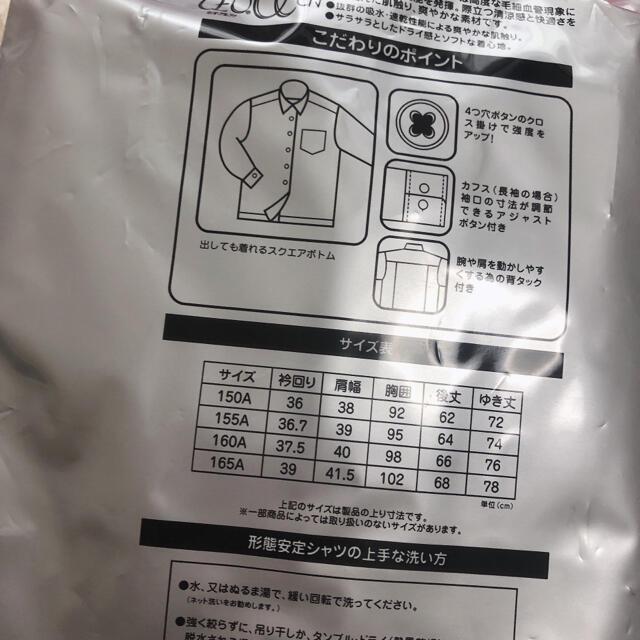 しまむら(シマムラ)のワイシャツ 長袖 スクールシャツ レディースのトップス(シャツ/ブラウス(長袖/七分))の商品写真