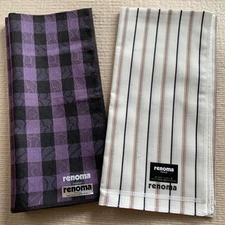 レノマ(RENOMA)のrenoma ハンカチセット(ハンカチ/ポケットチーフ)
