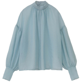 CLANE クラネ SHEER PUFF TOPS