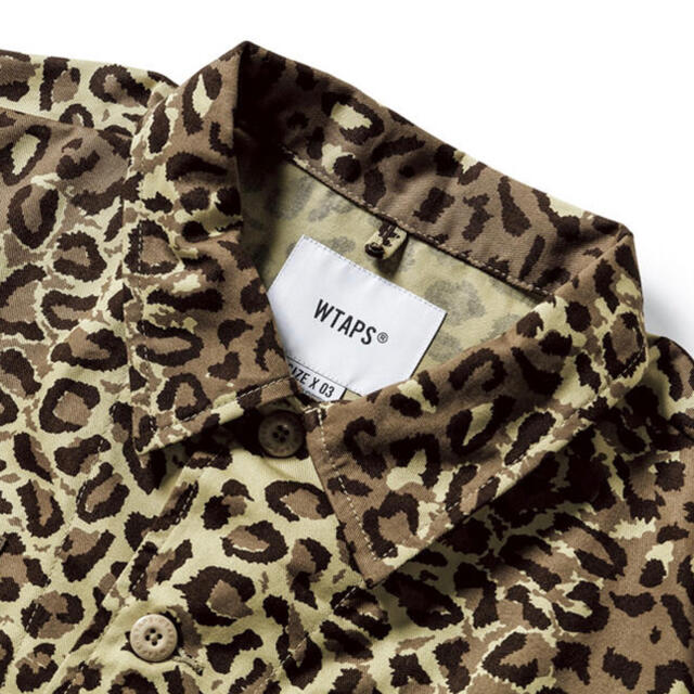 W)taps(ダブルタップス)の【BEIGE/L】WTAPS JUNGLE 01 LS CAMO L BEIGE メンズのジャケット/アウター(ミリタリージャケット)の商品写真