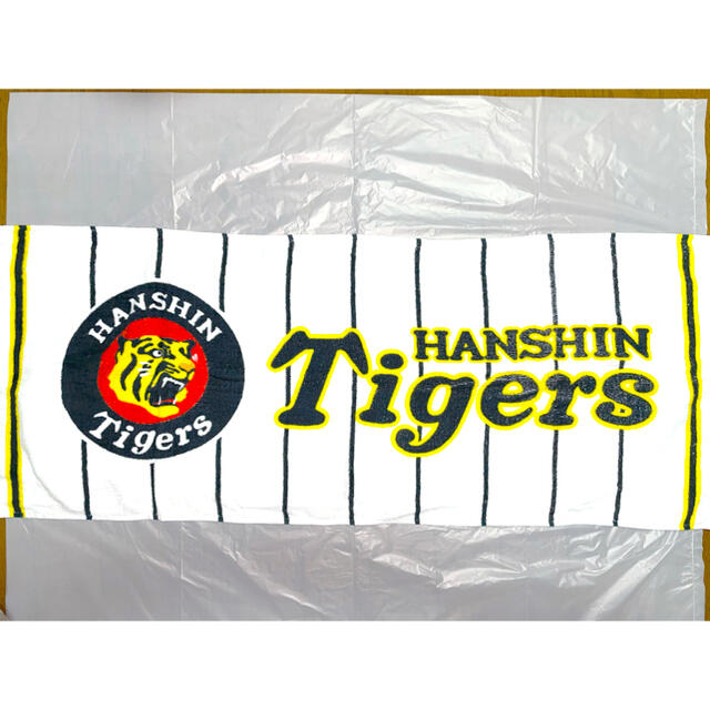 阪神タイガース(ハンシンタイガース)の阪神タイガース タオル フェイスタオル 応援グッズ Tigers ユニホーム風  スポーツ/アウトドアの野球(応援グッズ)の商品写真