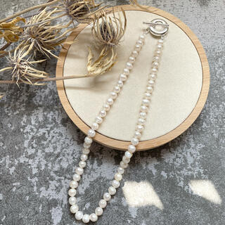 BEAUTY&YOUTH UNITED ARROWS - fresh pearl necklace