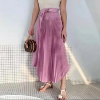 ザラ(ZARA)の美品 BIRTHDAY BASH プリーツロングスカート バースデーバッシュ (ロングスカート)