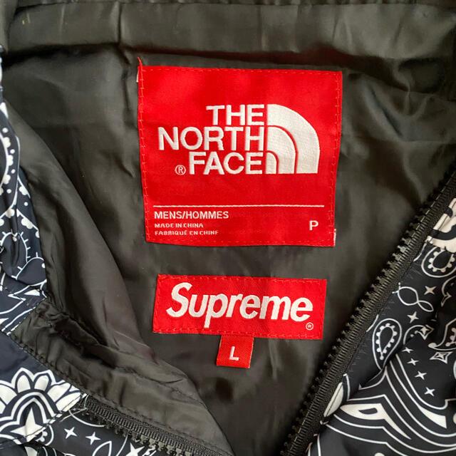 THE NORTH FACE(ザノースフェイス)のバンダナマウンテンジャケットL メンズのジャケット/アウター(マウンテンパーカー)の商品写真
