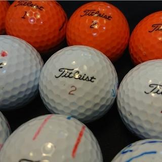 タイトリスト(Titleist)の【B級】HVCソフトフィール 24球 タイトリスト ロストボール ゴルフボール(その他)