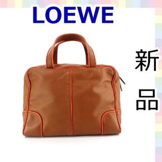 LOEWE - 【ほぼ新品】ロエベ ミニボストンバッグ ナッパレザー 604