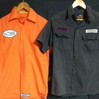 ハーレーダビッドソン(Harley Davidson)のビンテージ レッドキャップ & ハーレーダビッドソン メンズ 半袖 シャツ(シャツ)