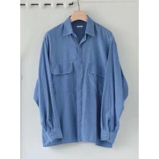 COMOLI - COMOLI コモリ 21ss ベタシャン CPOシャツ サイズ2