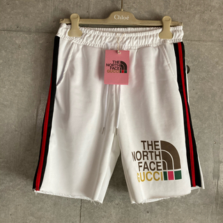 THE NORTH FACE - 人気 The North Face×Gucci ショートパンツ