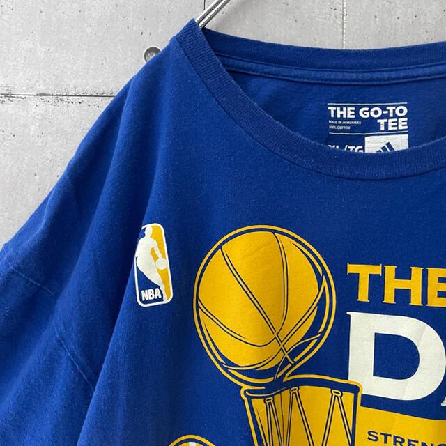 adidas(アディダス)の【激レア】アディダス NBA Tシャツ チーム ウォリアーズ メンズのトップス(Tシャツ/カットソー(半袖/袖なし))の商品写真