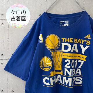 adidas - 【激レア】アディダス NBA Tシャツ チーム ウォリアーズ