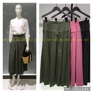 Theory luxe - ✤2018SS セオリーリュクス theory luxe ロングフレアスカート✤