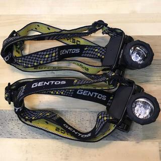 ジェントス(GENTOS)のGENTOS ジェントス ヘッドライト 2セット GTR-831D(ライト/ランタン)