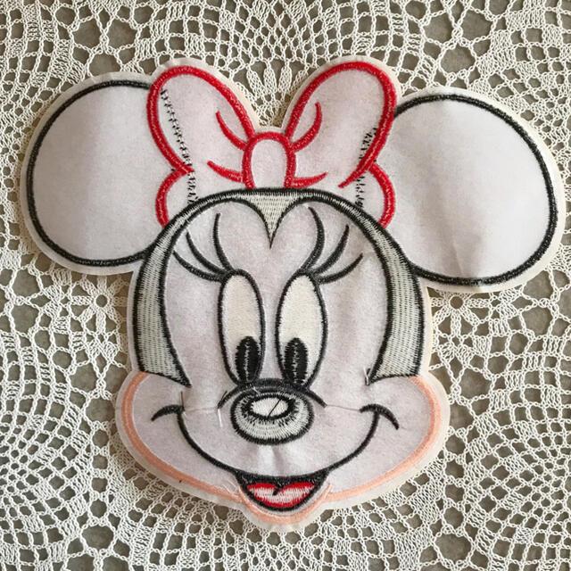 Disney(ディズニー)の大人気❤️特大サイズ 刺繍ワッペン アップリケ アイロンワッペン エンタメ/ホビーのおもちゃ/ぬいぐるみ(キャラクターグッズ)の商品写真