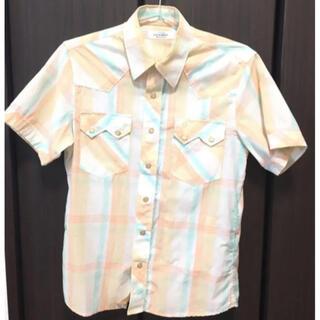 HOLLYWOOD RANCH MARKET - 送料込❗️ハリウッドランチマーケット ロフトマン 半袖チェックシャツ
