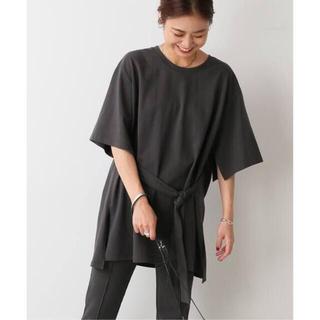 JOURNAL STANDARD - 【Miho Tanaka × relume】ベルテッドスリットTシャツ