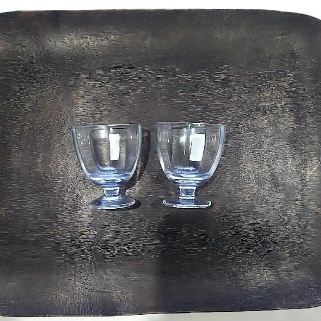 ACTUS(アクタス)の冷酒 グラス ペア  リキュールグラス     無印良品 私の部屋 アクタス インテリア/住まい/日用品のキッチン/食器(グラス/カップ)の商品写真