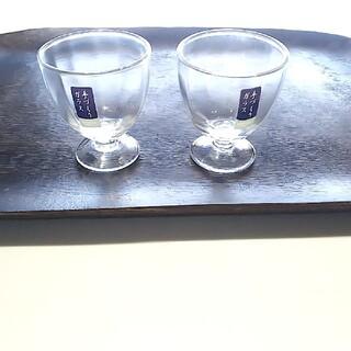 ACTUS - 冷酒 グラス ペア  リキュールグラス     無印良品 私の部屋 アクタス