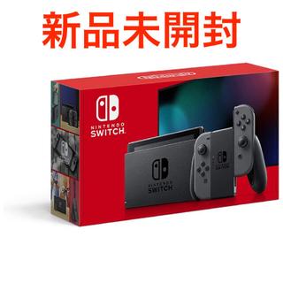 Switch 本体 グレー(家庭用ゲーム機本体)