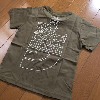 THE NORTH FACE - 新品未使用 THE NORTH FACE ノースフェイス ロゴ Tシャツ 120