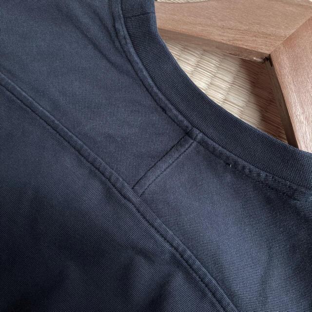ACNE(アクネ)のAcne studios アクネ すみ黒 ブラック Tシャツ ロングワンピース レディースのワンピース(ロングワンピース/マキシワンピース)の商品写真